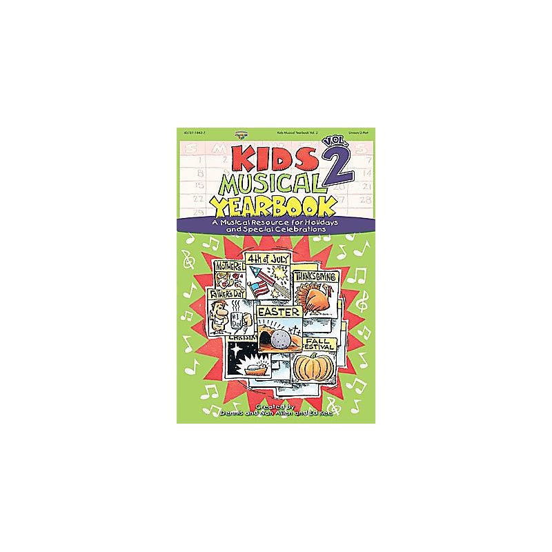 Kids Musical Yearbook Vol 2 Split Track Accompaniment CD