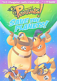 3-2-1 Penguins: Save the Planets!