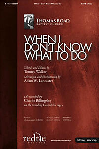 When I Don't Know What To Do - Orchestration CD-ROM (PDF)