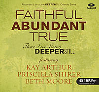 Faithful, Abundant, True - Audio CDs