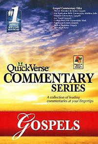 QuickVerse Commentary Series: Gospels