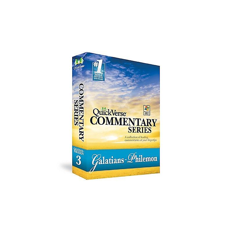 QuickVerse Commentary Series: Galatians-Philemon