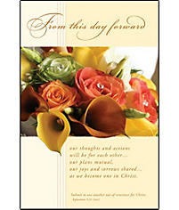 Wedding Bulletin: From This Day Forward