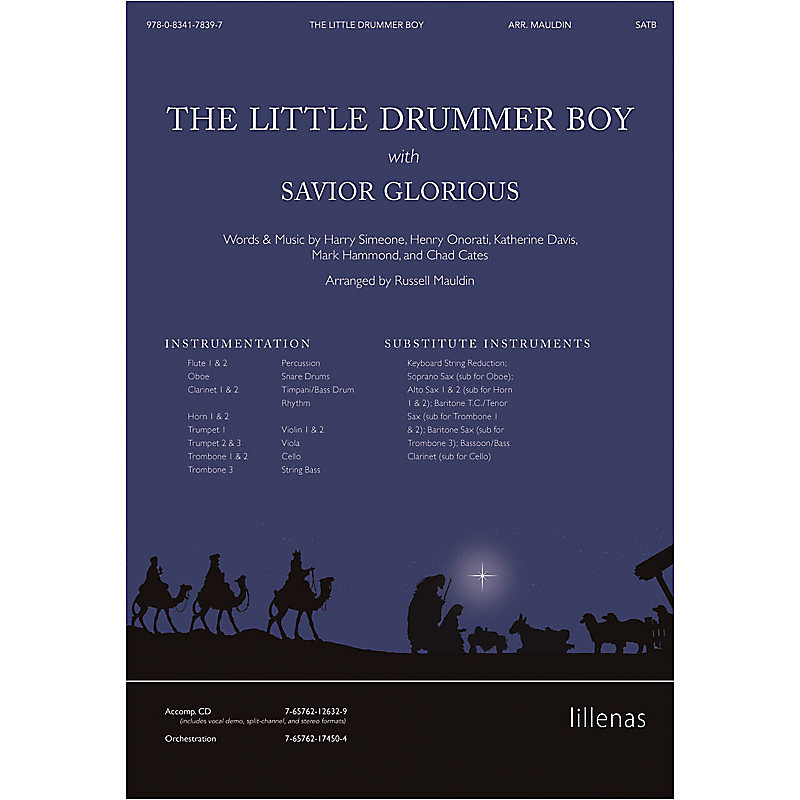 The Little Drummer Boy with Savior Glorious - Anthem