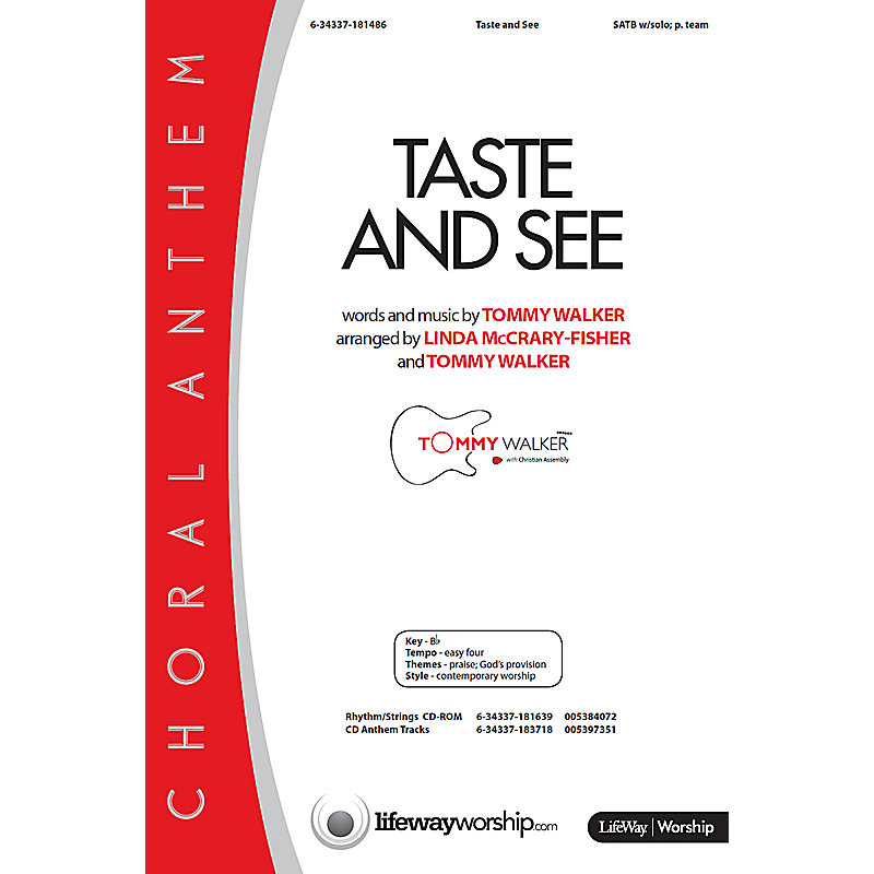 Taste and See - Orchestration CD-ROM (PDF)