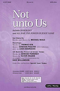 Not Unto Us - Orchestration CD-ROM (PDF)