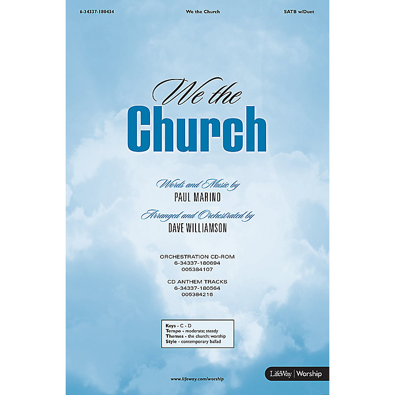 We the Church - Anthem