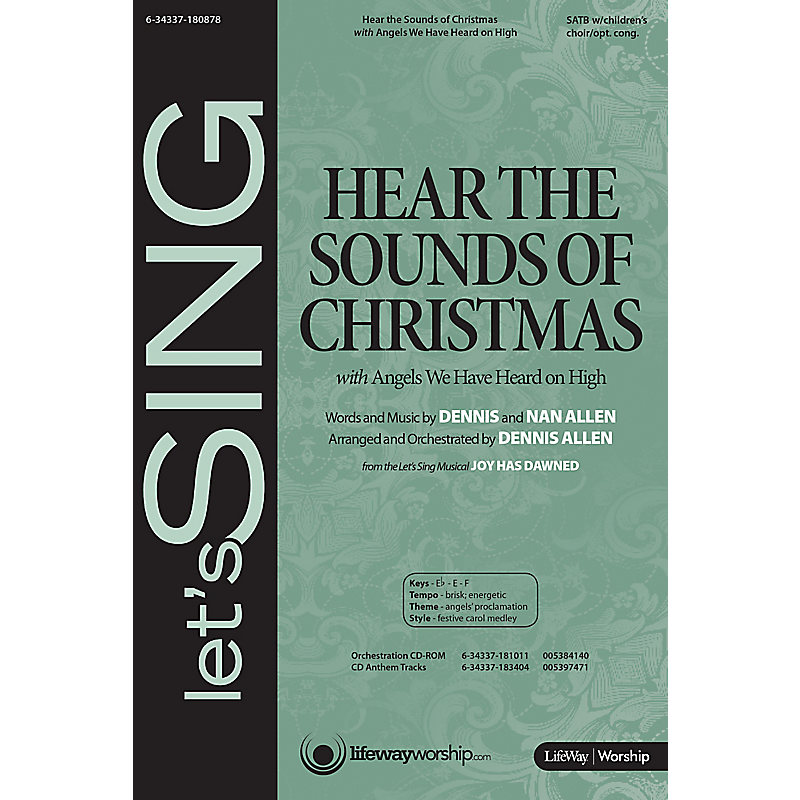 Hear the Sounds of Christmas with Angels We Have Heard on High - Orchestration CD-ROM (PDF)