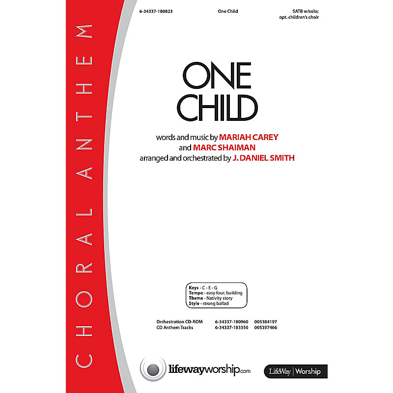 One Child - Orchestration CD-ROM (PDF)