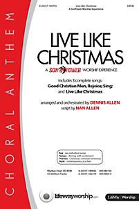Live Like Christmas: A SonPower Worship Experience - Anthem Tracks