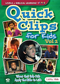 Levels of Biblical Learning: Quick Clips for Kids - DVD Volume 2