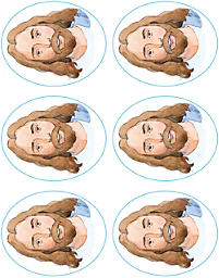 Levels of Biblical Learning: Stickers - Jesus, Our Special Friend