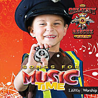 Music Time: The Greatest Rescue Ever - Accompaniment/Listening CD