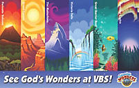 VBS 2012 Invitation Postcards