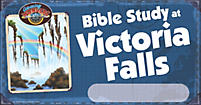 VBS 2012 Bible Study Location Signs