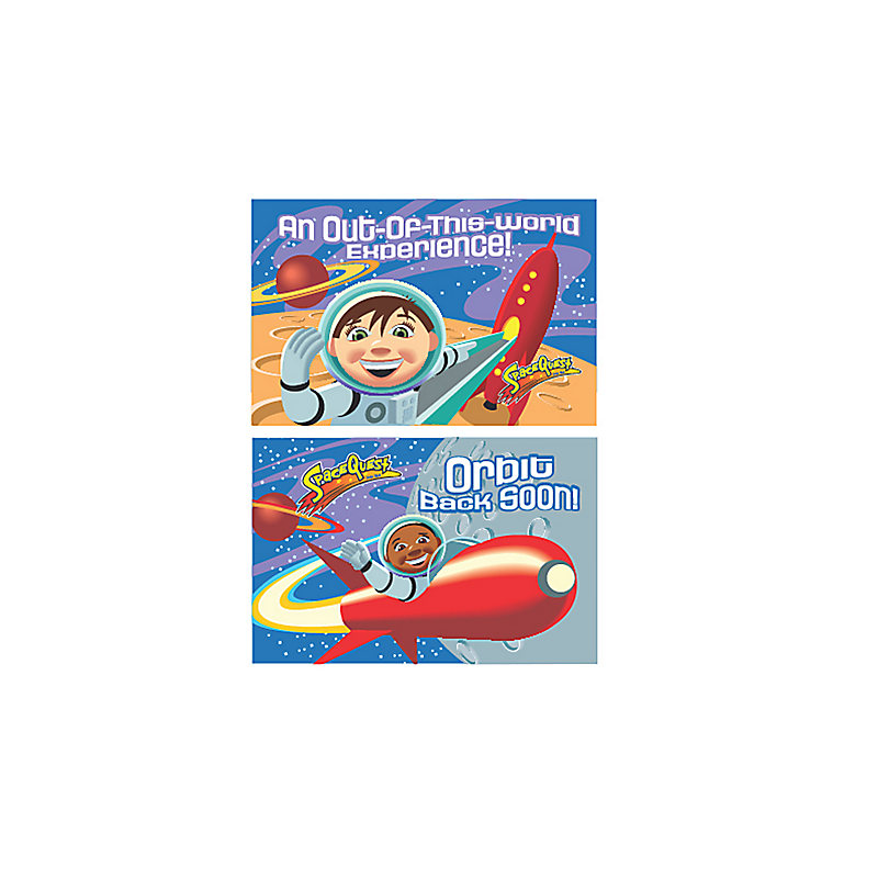 Club VBS 2012: SpaceQuest - Invitation and Follow-up Postcards