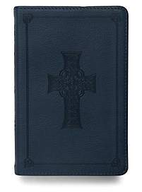 ESV Compact Bible: Blue Cross