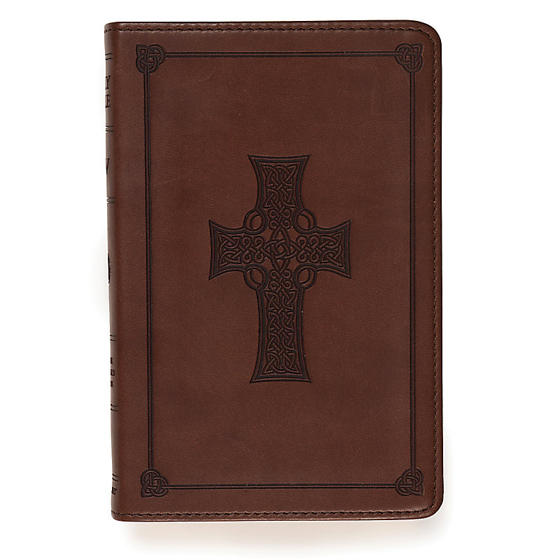 ESV Compact Bible: Brown Cross