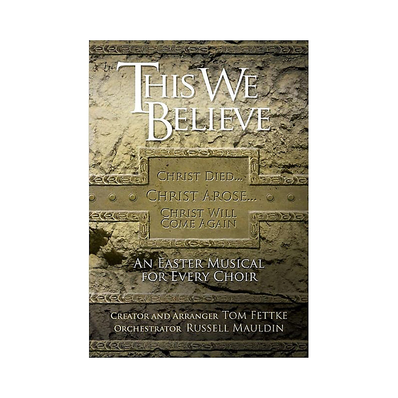 This We Believe - Rehearsal CDs