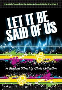 Let It Be Said of Us - Split-Track Accompaniment CD