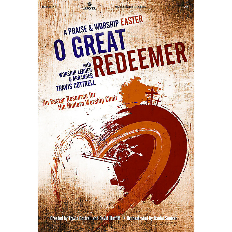 O Great Redeemer P&W Easter  Drum Rehearsal Trks