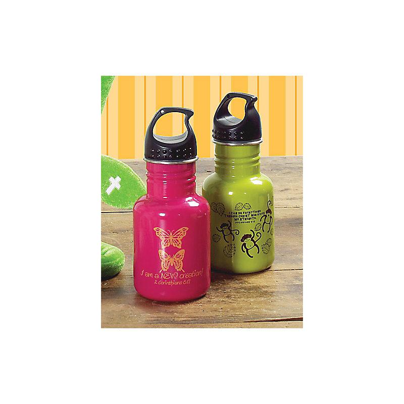 Water Bottles: Monkey (Green)