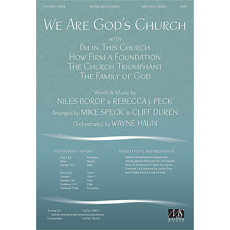 We Are God's Church - Anthem