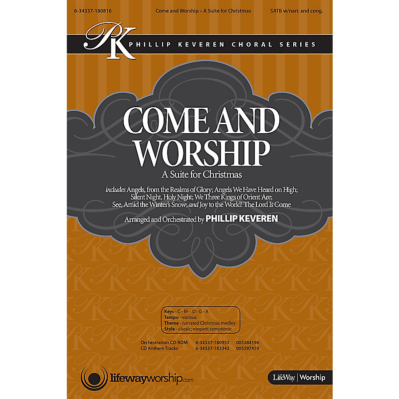 Come and Worship: A Suite for Christmas - Soprano Rehearsal Tracks