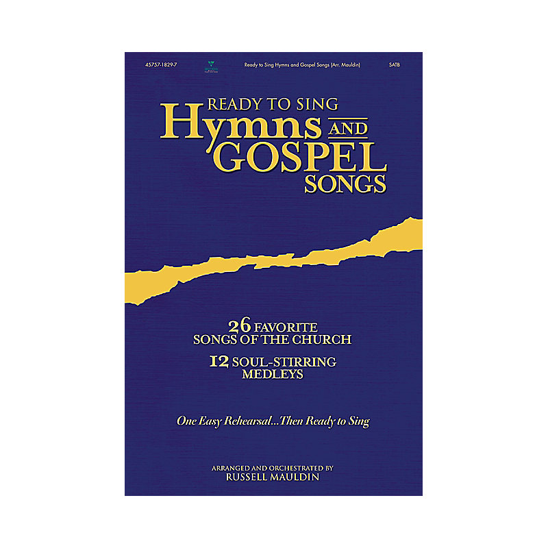 Ready to Sing Hymns and Gospel Songs, Volume 2 Bass