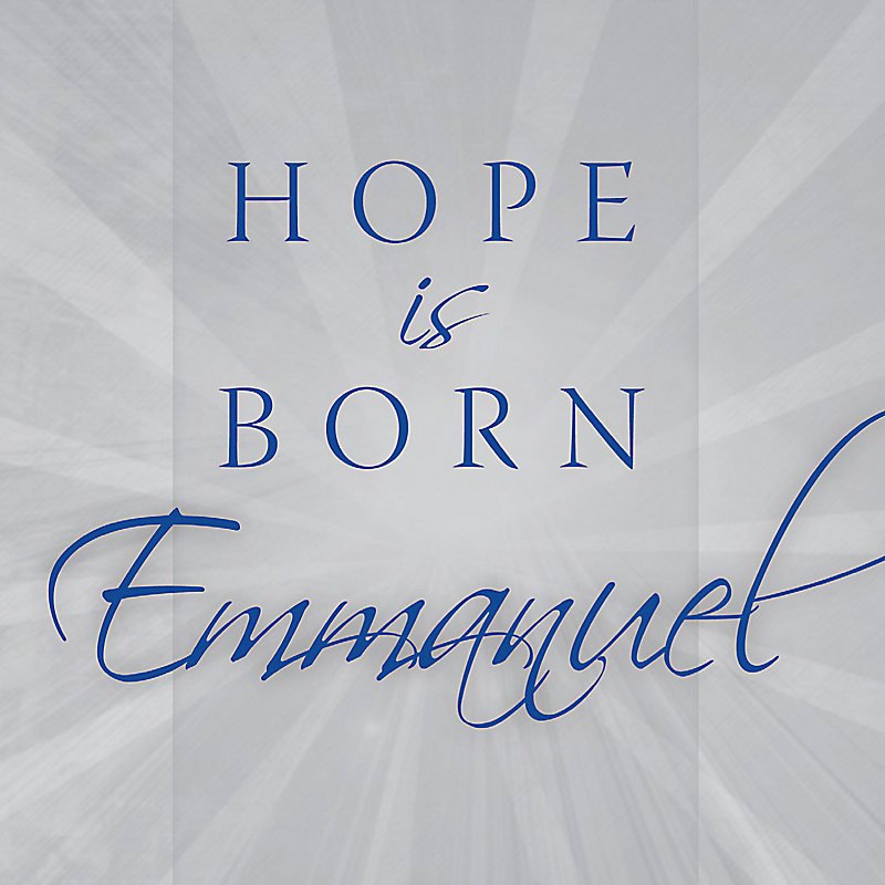 Hope Is Born - Emmanuel - Listening CD