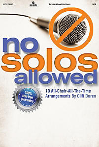 No Solos Allowed CD