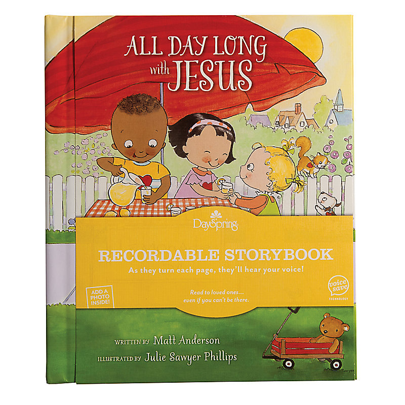 All Day Long with Jesus - Recordable Storybook