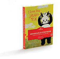 I Love Your Head to Toe - Recordable Storybook