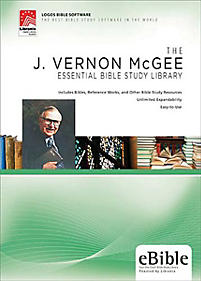 a look at j vernon mcgees views on the bible I heard the late bible teacher, pastor, and author, j vernon mcgee (through the bible ministries) say that the earth could actually be millions or even a few god created a mature earth too because there were already mountains, the stars must have been visible because abraham was able to view the.