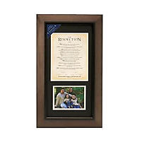 COURAGEOUS - THE RESOLUTION Framed Print