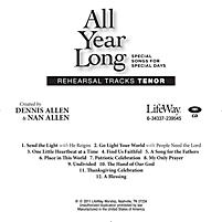 All Year Long - Tenor Rehearsal Tracks