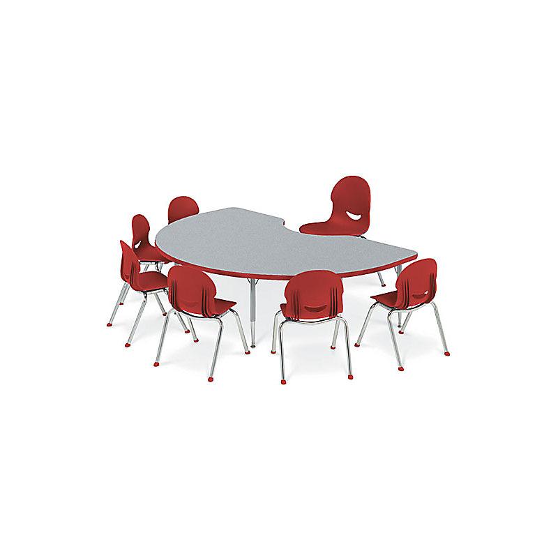 VIRCO ACTIVITY TABLES - MODEL 48TRAP60LO