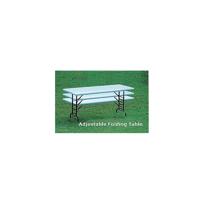 CORRELL TABLES: FOLDING ADJUSTABLE (MODEL RA3072)