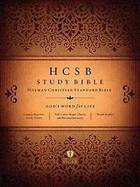 HCSB Study Bible: Jacketed Hardcover