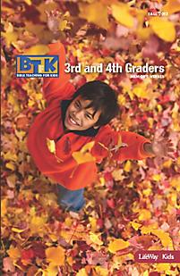 Bible Teaching for Kids 2012-2013 Memory Verse Booklet - Grades 3 & 4