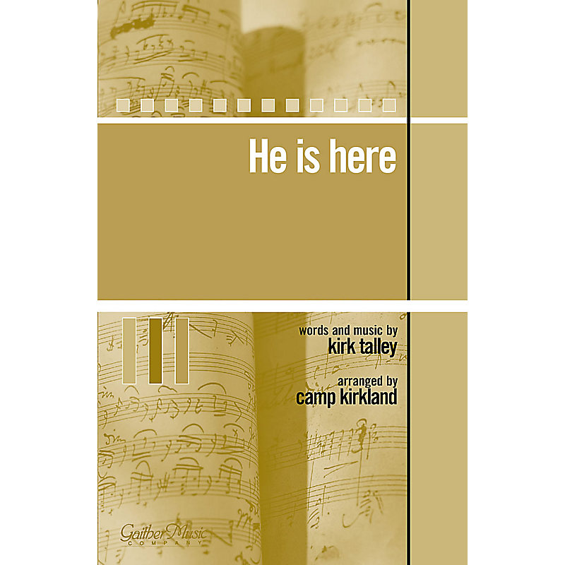 He Is Here - Orchestration