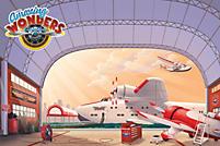 VBS 2012: Quick Scene™ Aviation Hangar Supersized Backdrop Art Files
