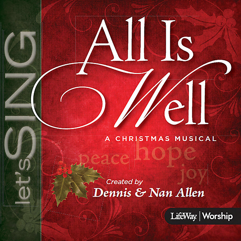 All Is Well - Alto Rehearsal CD