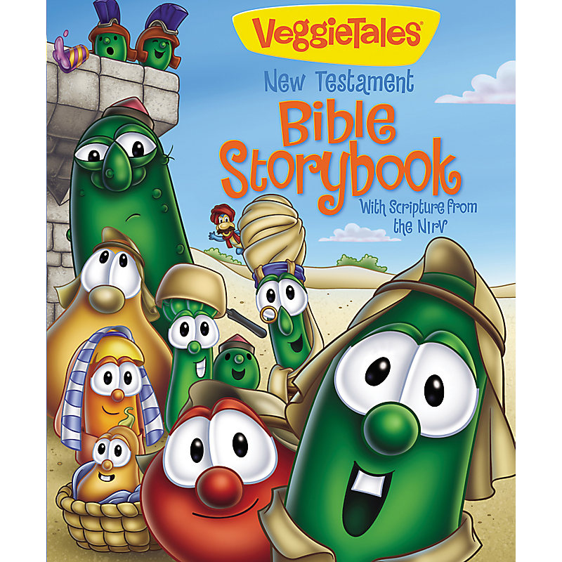VeggieTales New Testament Bible Storybook