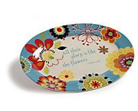 Summer Flower Collection Platter