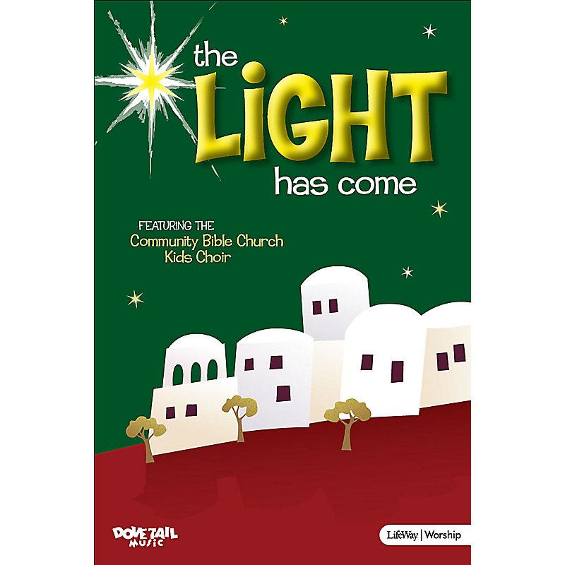 The Light Has Come - Accompaniment DVD