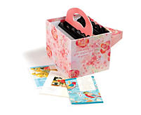 Pink Card Organizer and 40 All Occasion Cards