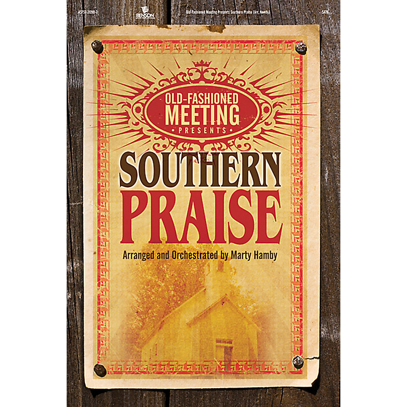 Old-Fashioned Meeting Presents Southern Praise: Alto Rehearsal CD