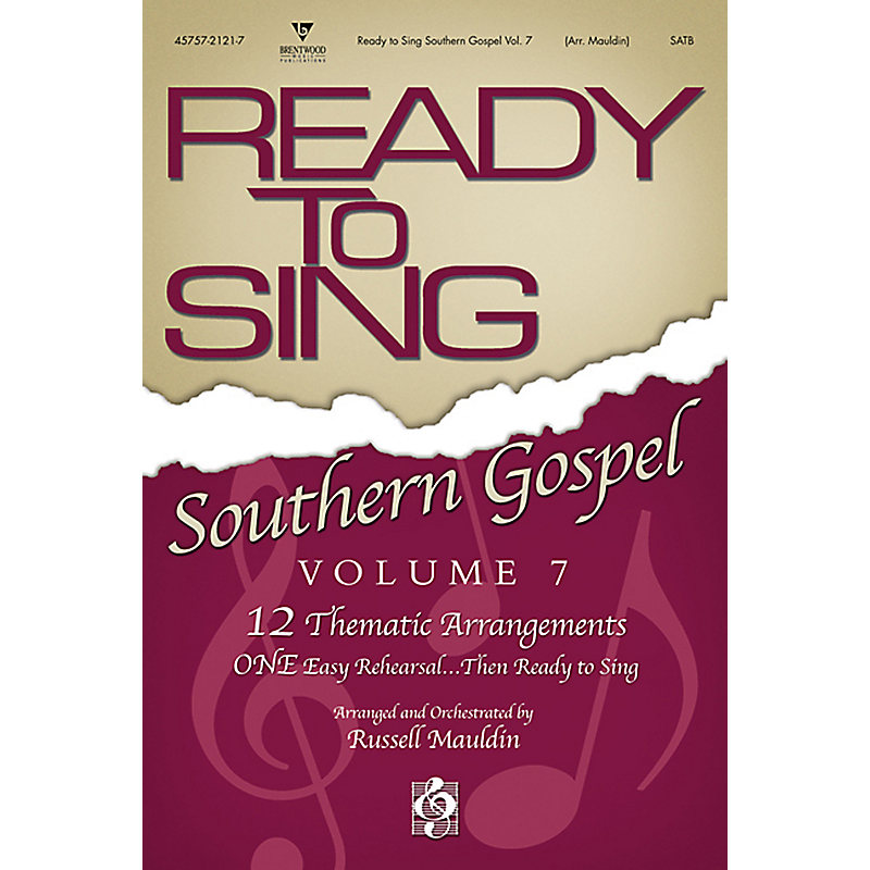 Ready to Sing Southern Gospel, Volume 7: Bass Rehearsal CD