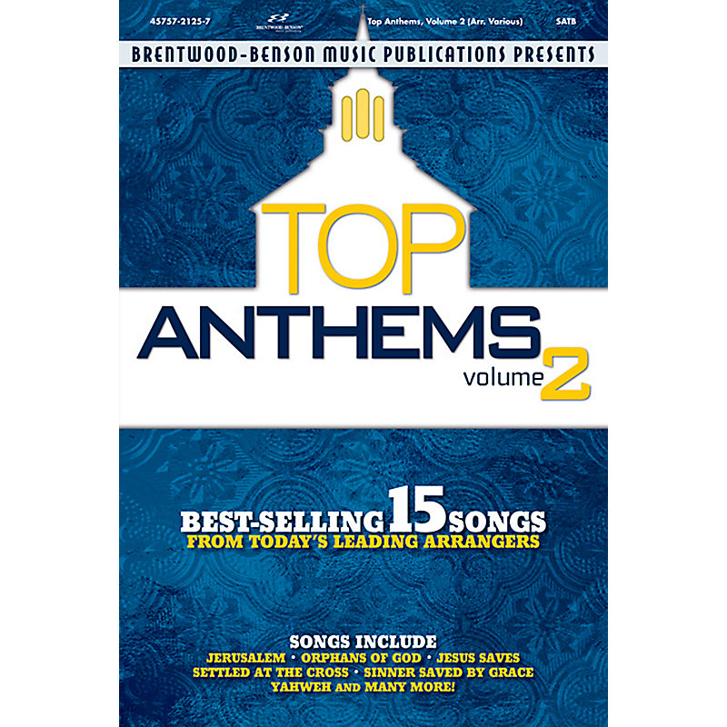 Top Anthems, Volume 2: Alto Rehearsal CD